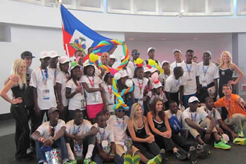 Haitian Delegation Redondo Beach Send Off
